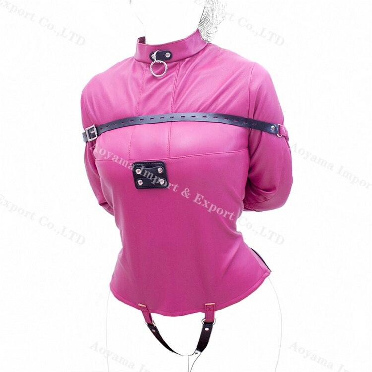 pink leather jackets hong kong adjustable bondage wear sex games for married couples bdsm women<br>