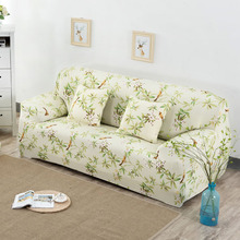 Hot Selling Flower Printing Sofa Covers All-inclusive Universal Cover Slip Cover Loveseat Couch Covers Home Furniture Protector
