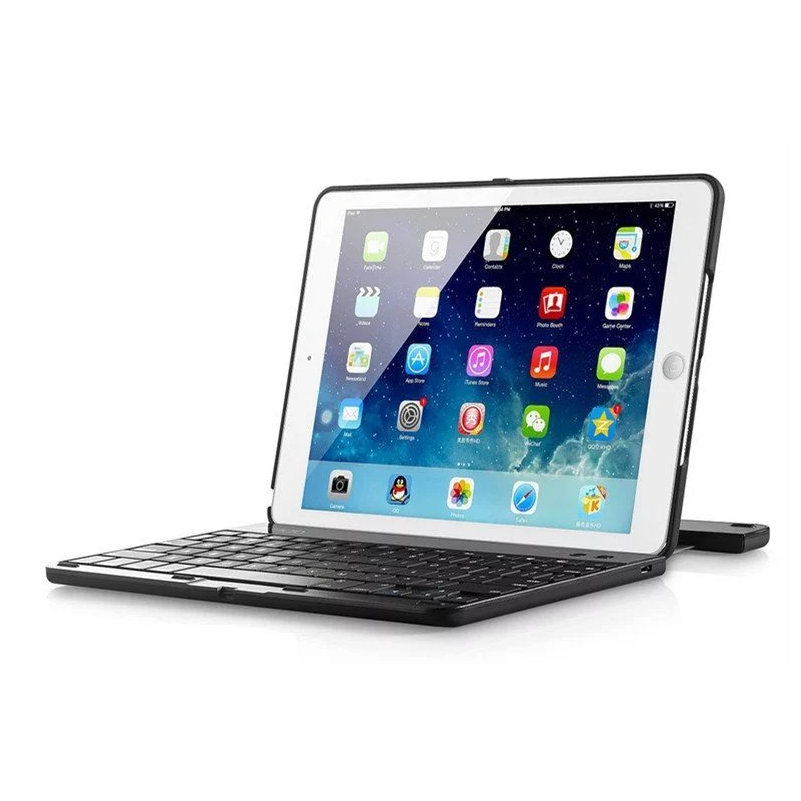 Wireless Bluetooth Keyboard for Apple iPad mini 4 TabletCase Shockproof 360 Degree Rotation Multi-Angle Stand with ABS Keyboard<br>