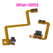 10 set Shoulder Trigger Button Left Right Flex Cable L/R Flex Cable Ribbon Cable for Nintendo For 3DS Repair L/R Switch Button