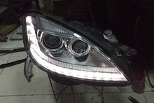for Mercedes Benz S-Class W221 S250/ S300/ S300L/ S350/ S350L/ S400L/ S500L/ S600L headlights with LED DRL light 2006-2012 LF