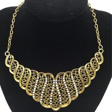 Cheap Price Retro Vintage Antique Luxury Lady Rhinestone Short Necklace Women Choker Necklaces & Pendants Jewelry For Gift Party(China)