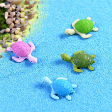 4Pcs Mini Turtle Tortoise Miniature Fairy Garden Decoration DIY Doll House Terrarium Micro Landscape Decoration