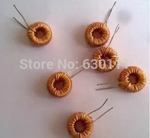 Free shipping !! 10pcs Nude 100UH 3A the toroidal inductor winding inductance the toroid inductor lm2596 dedicated