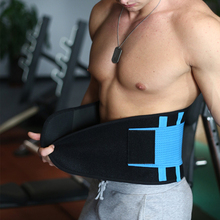 9 Colors Durable Waist Support Brace Belt Lumbar Lower Waist Double Adjustable Back Belt For Pain Relief Gym Sports Accessories(China)