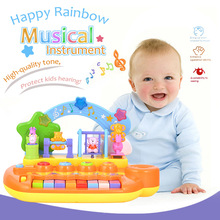 12 Keys Baby Mini Electronic Piano Keyboard Musical Toy Educational Electronic Piano Toys for Children Kids Music Development(China)