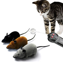 Funny Electronic Remote Control Mouse Rat Toy for Trick/Playing with Cat Pet Toy