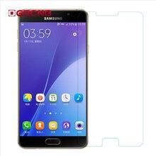 OGRCNB 0.28mm 9H Tempered Glass Samsung Galaxy J1 J3 J5 J7 2015 2016 A3 A5 A7 2016 2017 Screen Protector Film Case