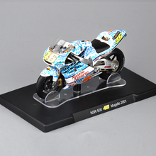 1/18 Scale Diecast Mororcycle VALENTINO ROSSI NSR 500 46# Mugello 2001 Motorbike Toys Collections(China)