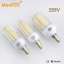 E14 SMD5730 Led Lamp 24-108Led Bulbs Power Equal Incandescent 20W to 100W For Hotel Home Art Lighting Bombillas Corn Led 220V