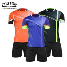 Men Jersey Soccer survetement football 2016 2017 Jersey Maillot De Foot soccer tracksuit Jersey Kits Football Clothing Sets