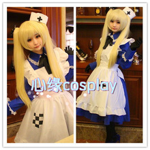 APH Axis Powers Hetalia UK England Britain Rosa Kirkland Cosplay Costume Lolita Maid Costumes for Women Halloween Party