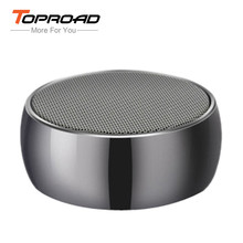 Portable Mini column altavoz HiFi Round Bluetooth Speaker Wireless Stereo Music boombox loudspeakers Handsfree Mic TF for phones