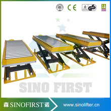 Roller Top Foot Pump Hydraulic Manual Lift Table, Customized Available