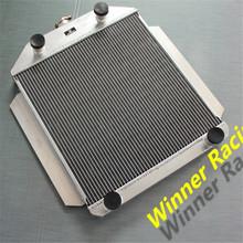 ALUMINUM ALLOY RADIATOR FOR FORD CAR FLATHEAD V8 ENGINE M/T 1949-1953 1950 1951 1952