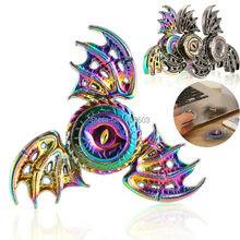 Buy Colorful Wings Dragon Magic Eye Hand Spinner Metal Fidget Spinner Fingertip Gyro EDC Autism ADHD Stress Relief Toys for $2.99 in AliExpress store