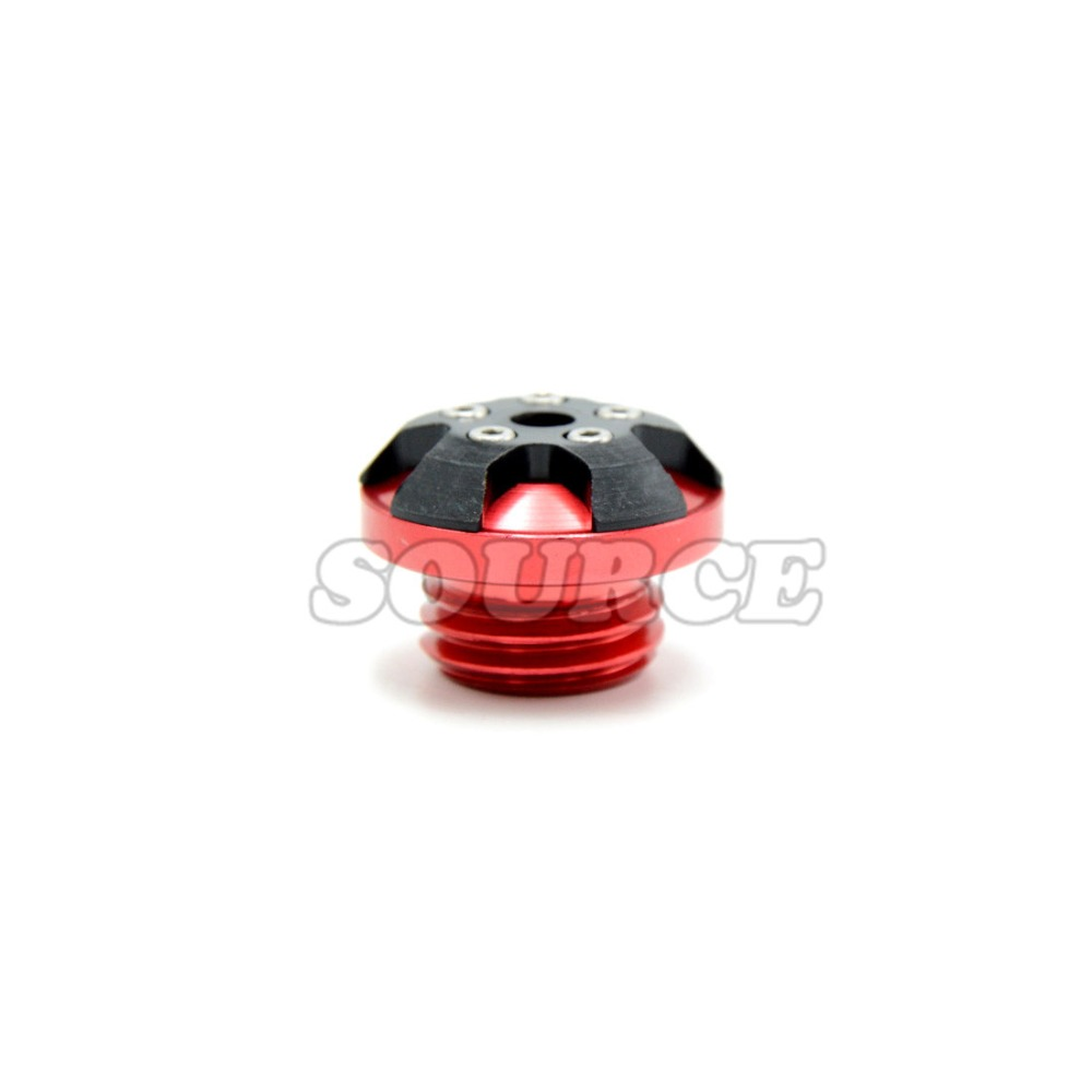 red color Motorbike CNC Engine Oil Filler Cup Cap Plate  forhonda honda integra honda magna 750honda pcx 125honda shadow 1100<br><br>Aliexpress