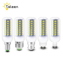 TSLEEN 220V 110V LED Bulbs Tubes E27 G9 GU10 E14 Energy Saving Lamp for Home New Milky Eye Protection 5730 SMD Low Heat 20W 25W