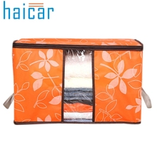 HAICAR Clothes Storing Storage Bag 60*40*35cm Foldable  Quilt  Sorting Anti-bacterial Clothing Organizer Quality First
