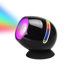 Touch 256 Colors Led Color Change Light Atmosphere Mood Light Touchscreen Scroll Bar USB 3d Led Light Projector Luminarias(China)