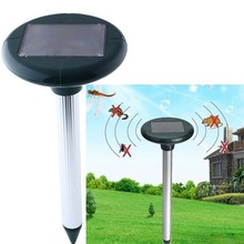 solar pest repeller reject Solar Powered Ultrasonic pest control electronic Rodent anti Mouse Rat Pest Repeller Eco-friendly
