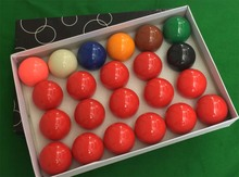 "22pcs/set Standard competition professional2 1/16""  snooker pool balls, snooker balls, billiard balls 52.5mm"