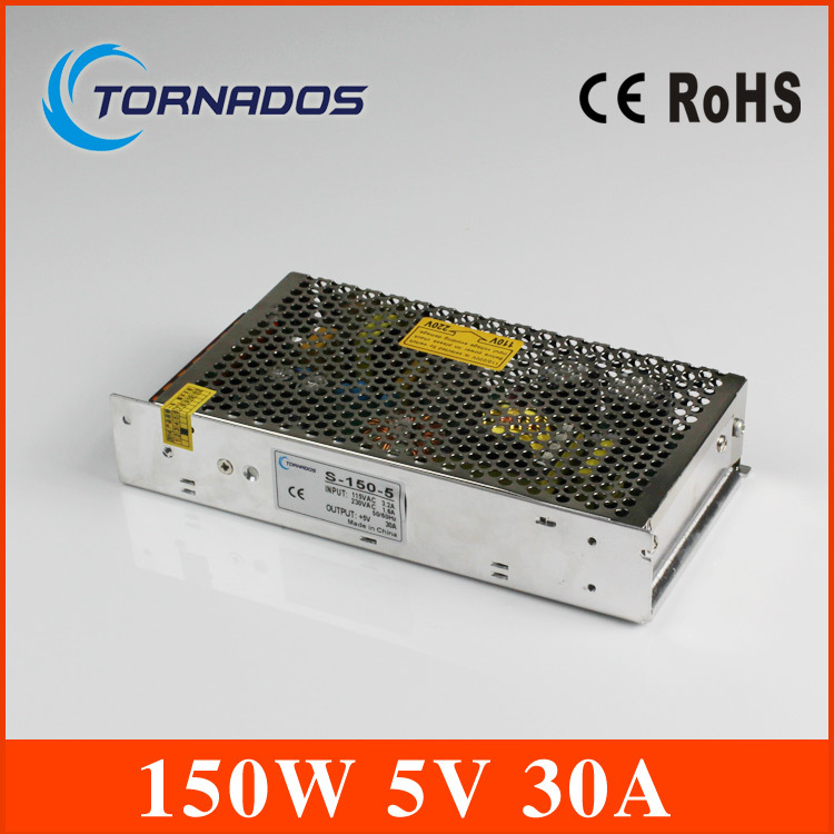 30A 150W Voltage Transformer AC 110V/220V to DC 5V Switch Power Supply for Led Strip LED display Led control Power Controller<br>
