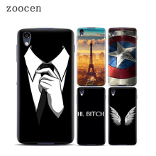 Zoocen Individuation DIY 3D Print Case for BlackBerry DTEK50 Back Case Hard Plastic Phone Cover Skin for Black Berry DTEK50