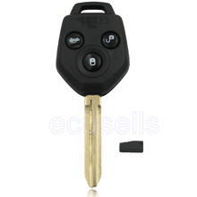 New Keyless Remote key Fob 3 Button 433MHz G Chip for Subaru Forester XV  uncut blade