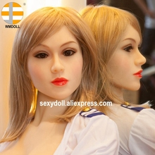 Buy WMDOLL 15# HEAD American silicone sex doll HEAD sexual high quality 135cm 172cm TPE oral sex doll dropshipping