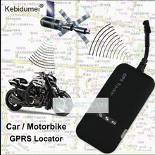 kebidumei Mini Car GPS tracker GT02A Realtime Car GSM GPRS GPS Tracking Alarm system Tracking Device(China)