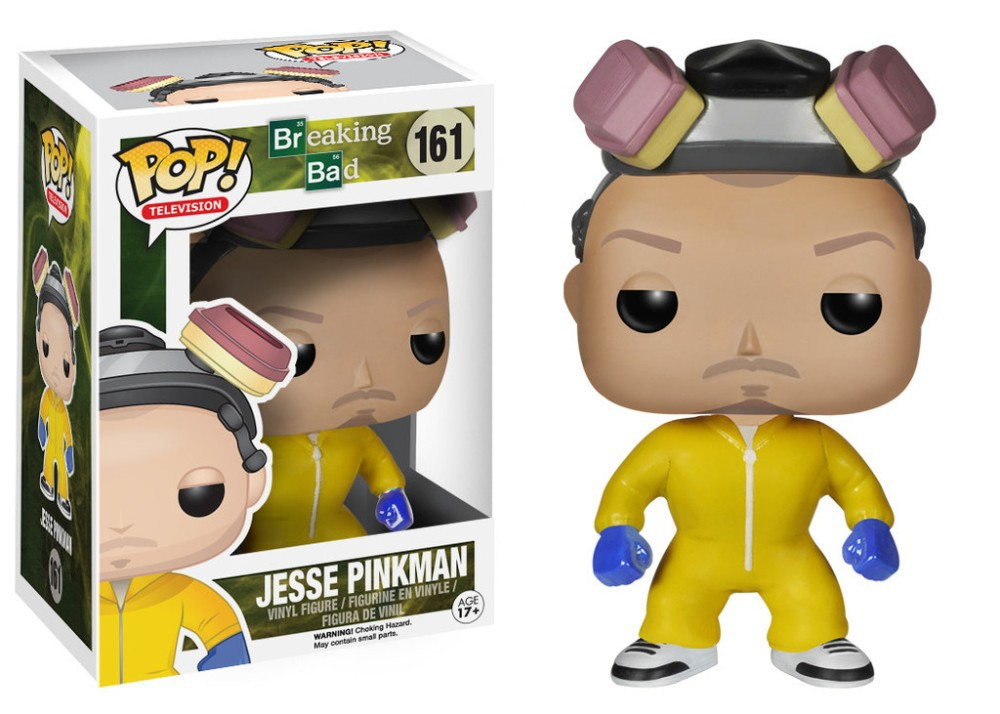 Limited Edition Original Funko pop Breaking Bad - JESSE PINKMAN (COOK)  Vinyl Figure Collectible Model Toy with Original box<br>