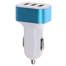 Buy Universal 3 USB ports Car Charger Adapter 5V 4.1A output 3 USB Port Car Charger iPhone6 Samsung Galaxy S5 S6 xiaomai for $1.08 in AliExpress store