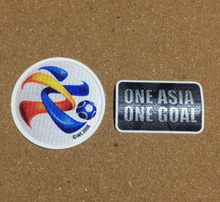2017 Asian Champions League Soccer Patch one asia one goal ACL Patch Badge Set