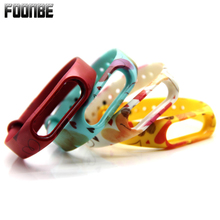 Buy Foonbe Mi Band 2 Heart Printed Replace Strap Xiaomi Silicone Wristbands MiBand 2 Bracelet Mi Band 2 Strap for $1.32 in AliExpress store