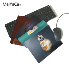 MaiYaCa Star Wars BB 8 Computer Mouse Pad Mousepads Decorate Your Desk Non-Skid Rubber Pad Not Overlock Mouse Pad