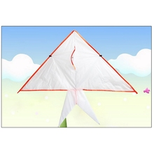 New Arrival Triangle Kite Flying Kites Toys Easy to Fly Kite Lightweight Kites for Children Outside Playing Toys