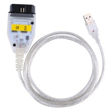 Auto car Diagnostic cables for BMW INPA K can inpa k dcan USB OBD2 Interface INPA Ediabas inpa k + dcan for BMW(China)
