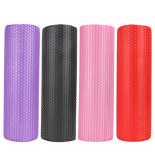 45x15cm Yoga Fitness Equipment Eva Foam Roller Blocks Pilates Fitness for Home Gym Exercises Physio Massage Roller Yoga Block(China)