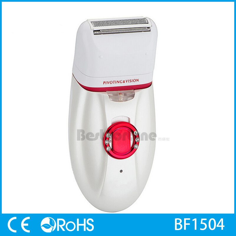 3 in 1 Multifunctional Rechargeable Electric LED Lady Shaver Epilator Intim+Callus Remover Machine Home Use Hot Sale BF1504<br>