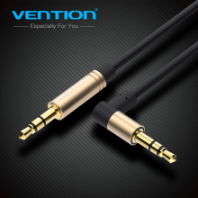 Vention Aux Cable 3.5mm to 3.5 mm Jack Audio Cable 90 Degree Angle Stereo Auxiliary Cord for Phone Car Speaker aux mp3 player