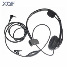 Earpiece Headset w/ Boom Mic For Motorola Walkie Talkie Radios Talkabout Radio XTR XTR446 1pin