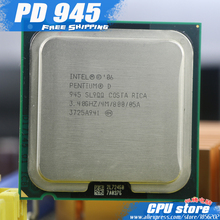 Intel Pentium D 945 CPU Processor (3.4Ghz/ 4M /800GHz) Socket 775 pd 945 pd945 (working 100% Free Shipping), sell pd 950 pd 960(China)