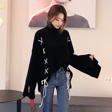2017 autumn and winter korean new arrival turtleneck sweater womens sweaters and pullovers (B0657)(China)