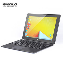 GMOLO 10inch mini touch screen laptop Atom Z8350 quad core netbook 4GB 64GB EMMC dual cameras WIFI mini notebook(China)