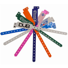 100pcs Disposable different color avaliable vinyl wristband, good quality plastic wristband, pvc bracelet