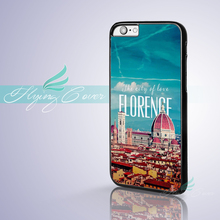 Coque Italy City Firenze Florence Phone Cases for iPhone X 8 8Plus 7 6 6S 7 Plus SE 5S 5C 5 4S 4 Case for iPod Touch 6 5 Cover.