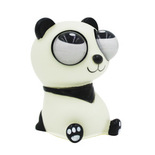 Funny Toys Panda Squeeze Toy Stress Squeeze Toy Eyes Pop Out  Relaxation Stress Relief Gags Practical Jokes Novelty Products