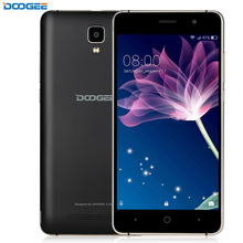 3G Original Doogee X10 Smartphone 5.0'' Android 6.0 MTK6570 Dual Core Metal Frame RAM 512M ROM 8GB 3360mAh Cellphone GPS WIFI