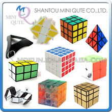 Mini Qute plastic Boys Speed Cubo Square Megaminx Pyramin twist Puzzle Pyraminx Rainbow Gifts Mirror Magic Cube educational toy